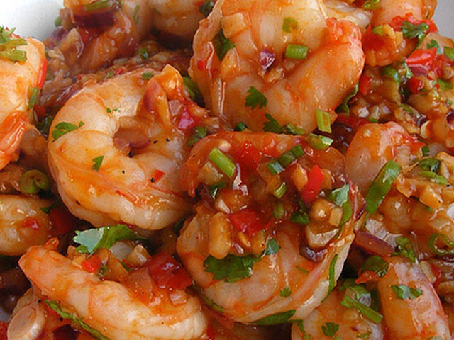 Chinese Food Shrimp Dishes